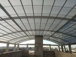 Polycarbonate Standing Seam Sheet Roof