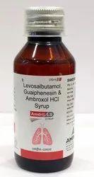Ambroxol Hydrochloride, Guaiphenesin, Levosalbutamol Sulphate Syrup
