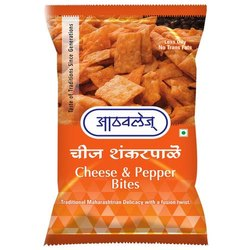 Cheese And Pepper Bites, 200 G, Packaging Type: Plastic Packet