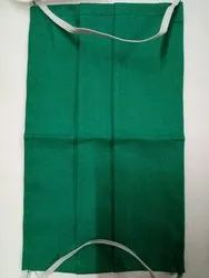 Green Cotton Face Mask with earloop