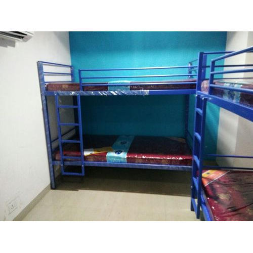 Blue Hostel Bunk Bed Rs 7500 Piece Shree Rupnath Enterprises Id