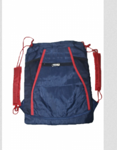 Plain T10 Sports Padded Gym Bag - Blue a732699880342