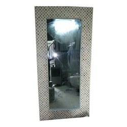 Bone Inlay Modern Rectangle Mirror Frame, Size/Dimension: 24x36 Inch