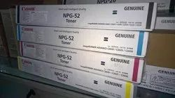 Canon Npg 52 Black Cyan Yellow Mazenta Full Toner Cartridge