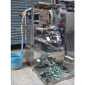 Stainless Steel Sunflex Shampoo Pouch Packing Machine, For Industrial