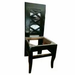 Radhika Furnitures Brown Wood Dining Chairs