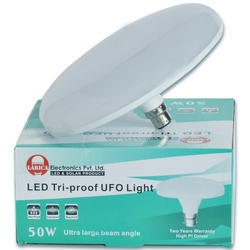 Aluminium Round 50 Watt LED UFO Light, for Indoor lighting, Warranty: 2 Year