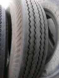 Nylon tyre retreaded - best mileage