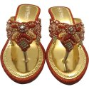 Kusum Collection Ladies Designer Heel Slipper, Size: 3-8