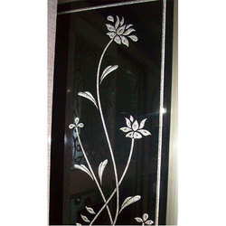 Black Back Painted Glass
