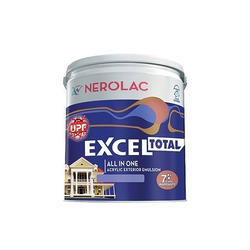 Nerolac High Gloss Waterproof Emulsion Paint, Packaging Type: Bucket