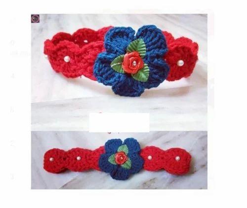 Headband Crochet Hand Crochet Baby Headband Manufacturer From Gulbarga
