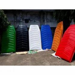 FRP Colored E Rickshaw Roof