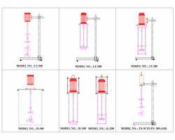 Standard Stirrer / Mixer Models:-