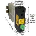 50 AMP DC TO AC SOLID STATE RELAY