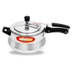 Shikha Aluminium 5.5 Liter Handi Pressure Cooker, For Home, Packaging Type: Box
