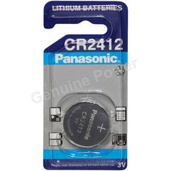 Panasonic CR2412 Coin Cell Batteries