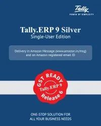 Online/Offline Tally ERP 9 Silver Single User, Free Demo/Trial Available, For Windows