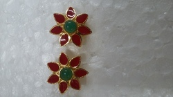 Red And Green Earring