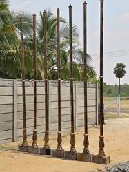 Street Cast Iron Lamp Pole