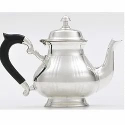 Silver Tea Pot & Tea Kettle