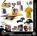 6 In 1 Heat Press Combo Machine For Key-Rings T-Shirts Mugs