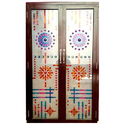 Aluminum Double Door, Size/dimension: 3 X 7 Feet