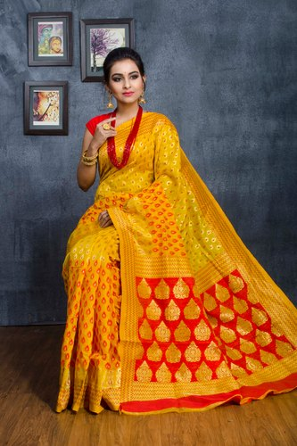 Chanderi Booti Saree