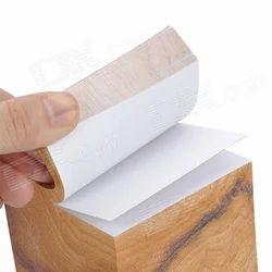 Wooden Holder Memo Pad