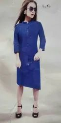 Ligalz presents DENIM KURTI