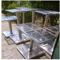 SS Bar Table Base