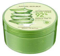 Alovera Green Nature Republic Aloe Vera Gel, 300 Ml, For Face,Body Skin, Dry Skin