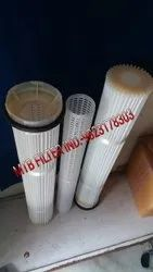 Batching Plant Dust Filter Cartridge