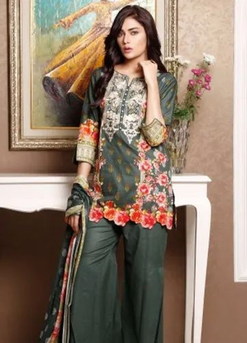d4ad9df7b4 Lawn Embroidered Casual Pakistani Suits, Rs 760 /bag, Shri Style ...