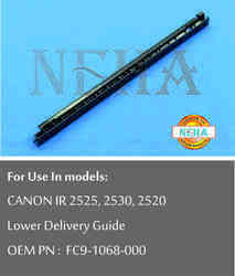 Lower Delivery Guide OEM PN: FC9-1068-000 For use in model: CANON IR 2525, 2530, 2520