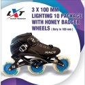 3 x 100 mm Honey Badger  Skate Wheel Set