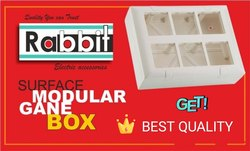 Rabbit & Repeat Gang Box, for Electric Fitting, Push Button Box