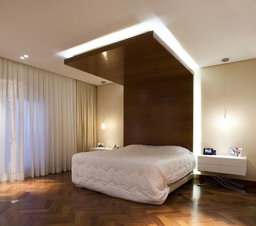 Wood En Bedroom Ceilings