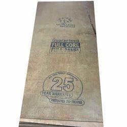 Brown Gurjan Plywood, Thickness: 19mm, Size: 8 X 4 Feet
