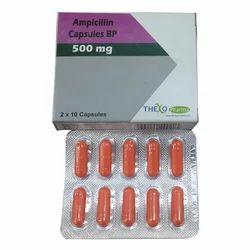 Ampicillin BP Capsules 500mg