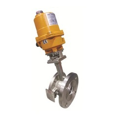 Electrical Actuator Flush Bottom Ball Valve