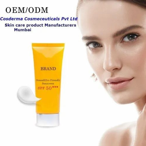 Sunscreen Third Party Manufacturing Service