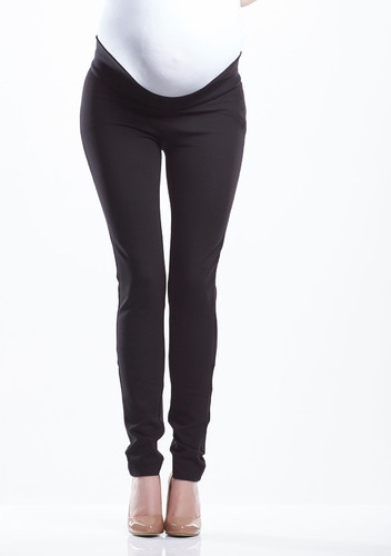 Black Plain Maternity Pant