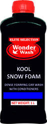Wonderwash Green Kool Snow Foam Shampoo, Packaging Type: Bottle