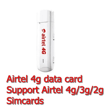 4G WIFI HOT SPOT - Airtel Huawei 3372 4g Dongle All Sim Open