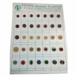 Mukesh Wooden Button