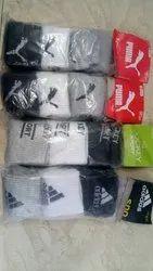 Cotten Mens Branded Socks