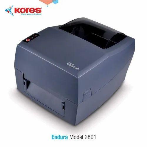 Kores Desktop Barcode & Label Printer, Endura 2801, Max Print Width: 4.25 inches