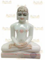 Marble Mahavir Swami Idol