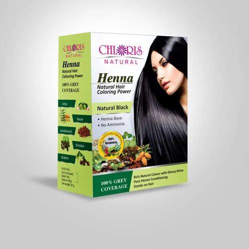 Chloris Natural Henna Colors